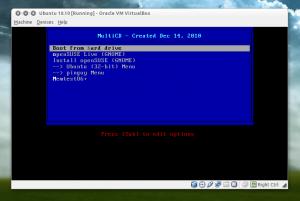 Создание мультизагрузочного CD из разных дистрибутивов Linux используя MultyCD