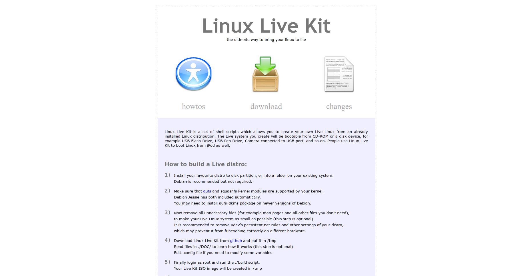 Восемь утилит для создания своего собственного дистрибутива Linux