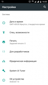Инженерное меню в Motorola C Plus