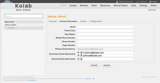Установка и настройка Kolab Groupware на Ubuntu 16.04 LTS